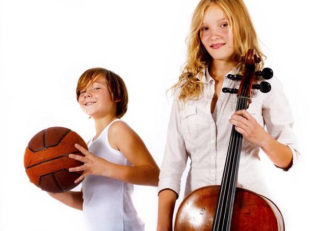 Umfrageergebnis: Sport oder Musik?