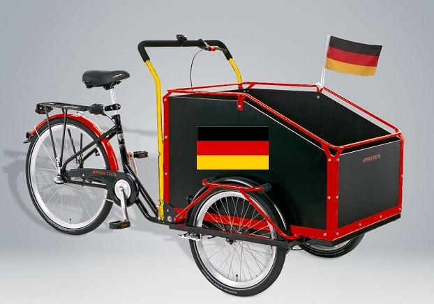 Fundstück: Ein Dreirad mit viel Platz für Vereine
